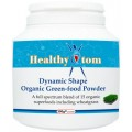 Dynamic Shape Organic Green-food Powder